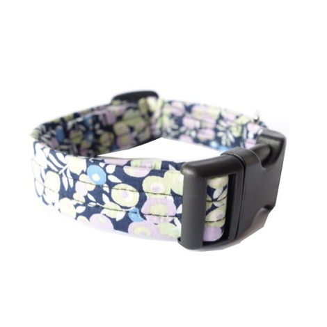Bluebell Liberty Print Dog Collar