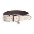 DO&G Leather Dog Collar - White