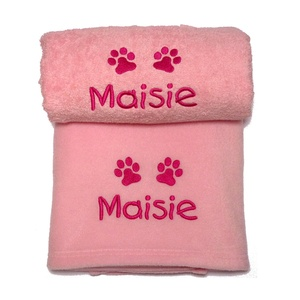 Personalised Puppy Gift Set - Pink