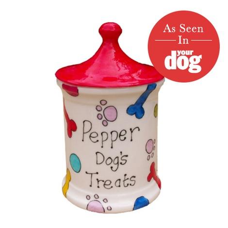 Personalised Dog's Treat Jar