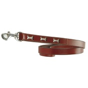 Bobby - Bobby Bones Dog Lead - Red