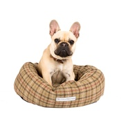 Mutts & Hounds - Balmoral Tweed Donut Bed