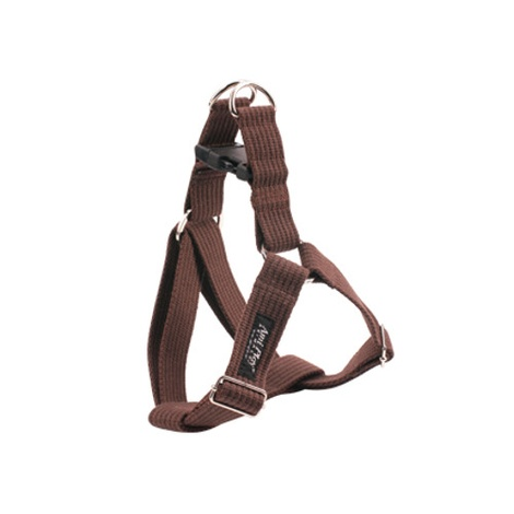Ami Play Cotton Dog Harness – Brown