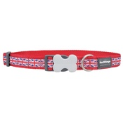 Red Dingo - Union Jack Dog Collar