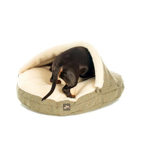 Tweed Cave Snuggle Bed 8