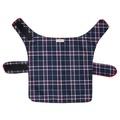 Pawditch Blue Check Dog Coat 3