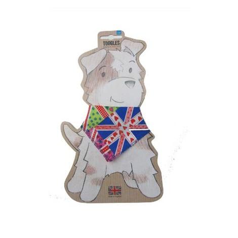 Toggles Dog Bandana - Funky Union Jack