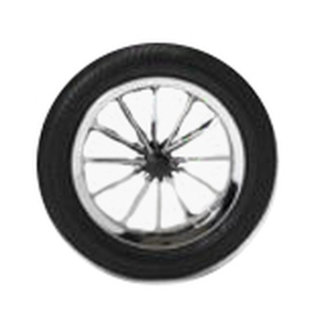 Spare Wheel for Buggy Comfort with Airfilled Tyres