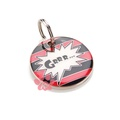 K9 Small Cat Grr Dog ID Tag