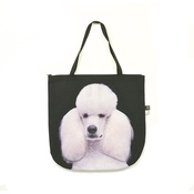 DekumDekum - Harlequin the White Standard Poodle Dog Bag