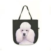 DekumDekum - Harlequin the White Standard Poodle Dog Bag