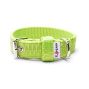 El Perro - Double Dog Collar – Neon Green
