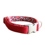 The Spotted Dog Company - Elspeth Harris Tweed Dog Collar