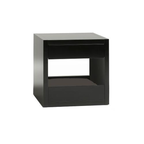 Bloq Pet Bed & Side Table - Black 7