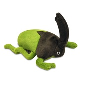 P.L.A.Y. - Ryan the Rhino Beetle Plush Dog Toy