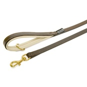 Dogs & Horses - Brown & Cream Colours Leather Lead