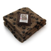 Princey's Blankets - Personalised Mushroom Paw Print Blanket