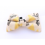 Pet Pooch Boutique - The Golden Impala Bow Tie