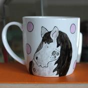Laura Lee Designs - Oh I Do Love Ponies Mug