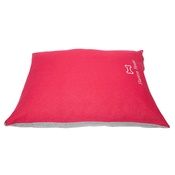 PetsPyjamas - Personalised Red Dog Bed