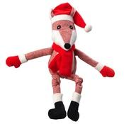 House of Paws - Tweed Fox Plush Dog Toy