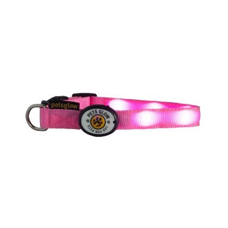 Outshined LED Dog Collar - Pink
