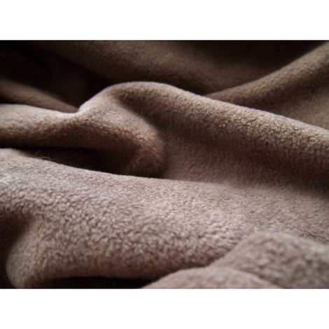 Double Fleece Dog Blanket - Mocha 3