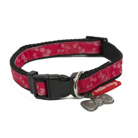 Hello Kitty Premium Bow Design Dog Collar