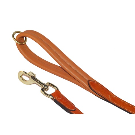 Luxury Leather Dog Lead with Padded Handle – London Ta 2