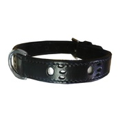 Bobby - Bobby Paws Dog Collar - Black