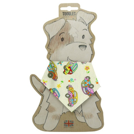 Toggles Beetle Bug Puppy & Dog Bandana