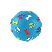 Gor Pets - Gor Rubber Giggle Ball - Blue