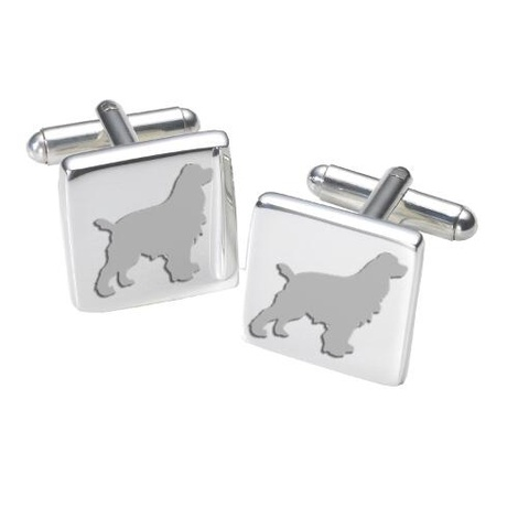 Cufflinks - Cocker Spaniel