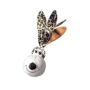 KONG Wubba Floppy Ears Dog Toy - Leopard