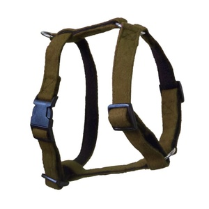 Khaki Wool Dog Harness