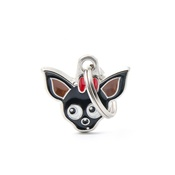 My Family - Chihuahua Engraved ID Tag – Black