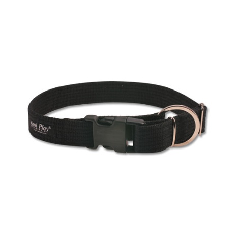 Ami Play Cotton Dog Collar – Black