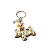 Dog & Dolls - Fortune Gold Keychain