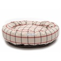 Nottingham Check Donut Bed  2