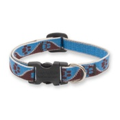"Collarways - 3/4"" Width Muddy Paws Lupine Dog Collar"