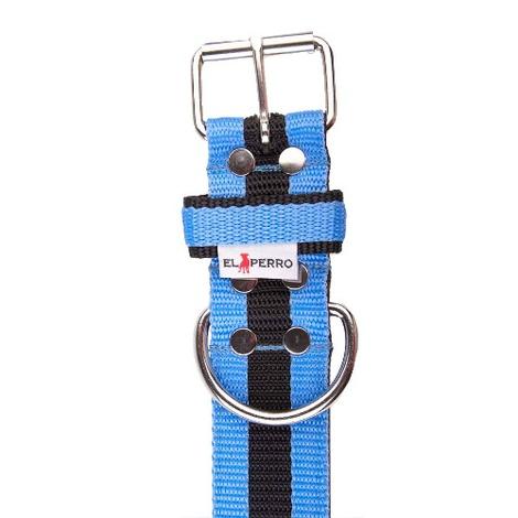 Juicy Strip Dog Collar - Baby Blue 2