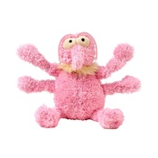Scratchette the Flea Plush Dog Toy - Pink