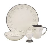 White Rabbit - Owl Crockery set