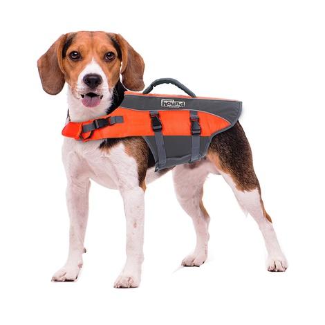 Ripstop Dog Life Jacket – Orange