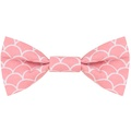 Pink Fans Bow Tie