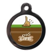 PS Pet Tags - Dig Life Pet ID Tag