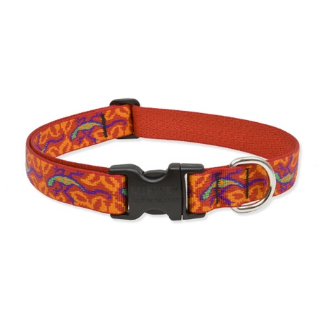 Go Go Gecko Lupine Dog Collar