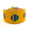 Kikoy Botanical Stripe Hound Collar