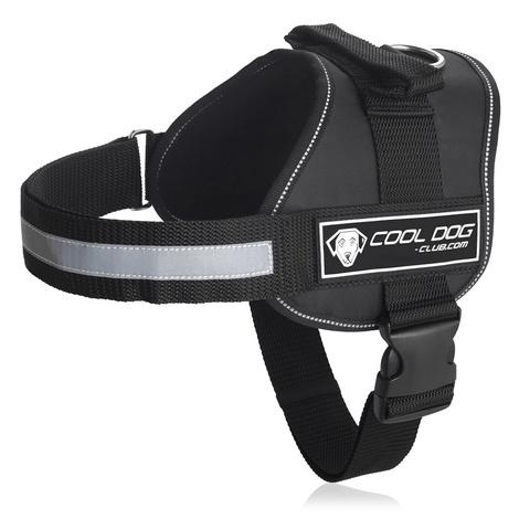 Cool Dog K9 Trek Harness in Black