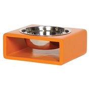 In Vogue Pets - Phorm Dog Bowl - Orange - Large